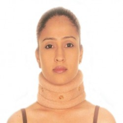 Cervical Collar Support With Turkish Fabric - Vissco