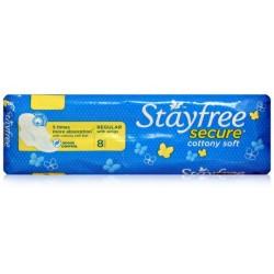 Stayfree Secure Cottony Soft Regular - J&J