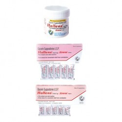 Hallens Glycerin Suppository - Meridian Enterprises Pvt Ltd.