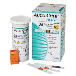 Accu-Chek Active 25 Strips Pack