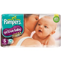 Pampers Active Baby Diapers - P&G