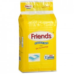 Ultrathin Underpads (10 Underpads) Large - Friends