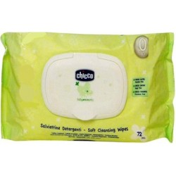 Cleansing Wipes (72 pieces) Moisture protecting flip cover pack - Chicco