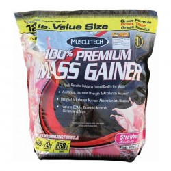 Muscletech 100% Mass Gainer (Chocolate) - 12 LBS (5.4 Kg)