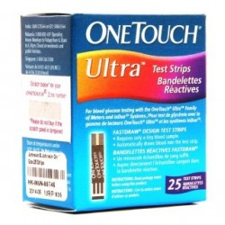 OneTouch Ultra 25 Test Strips