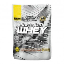 MuscleTech Essential Platinum 100% Whey, 10 lb Chocolate - MuscleTech