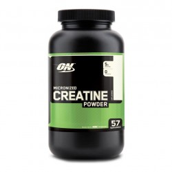 Micronized Creatine Powder, Unflavoured 0.66 lb - ON (Optimum Nutrition)