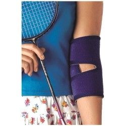 Vissco Neoprene Elbow Support with Velcro Strap-1419