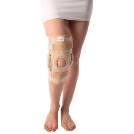 Vissco New Hinged Elastic Support with Open Patella - 0718