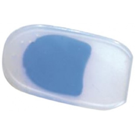 Vissco Silicon  Heel Pad with Blue Dot-0739