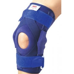 Hinged Brace with Patella Opening & Metal Hinges Knee Support - Vissco