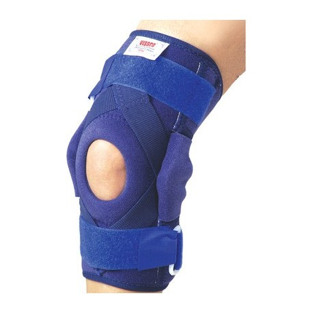 Vissco Hinged Brace with Patella Opening & Metal Hinges Knee Support - 1404