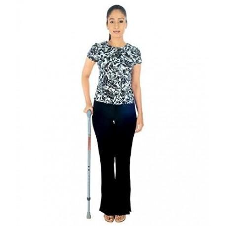 """Vissco Invalid Walking Stick """"L"""" Shape-0911"""