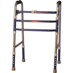 Invalid Foldable Adjustable Walker- Vissco