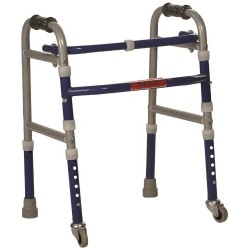 Invalid Foldable Walker Castors- Vissco