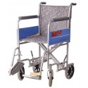 "Invalid Institutional Wheelchair 200mm 4"" Rear Wheel - Vissco"