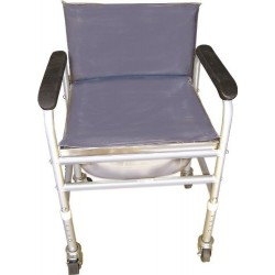 Invalid Commode with Back Rest Fixed - Vissco