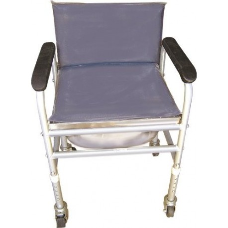 Vissco Invalid Commode with Back Rest Fixed-0914