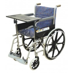 VISSCO Invalid Wheelchair Regular / Folding / Mag Wheels with Writing Board - 0968