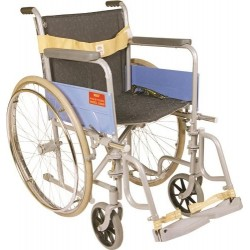 Vissco Invalid Folding Wheel Chair with Spoke Wheels - Universal (Regular) - 0971