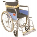 Invalid Folding Wheel Chair with Spoke Wheels - Universal (Regular) - Vissco