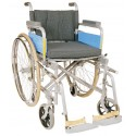 Wheelchair Deluxe with Spoke Wheels - Vissco