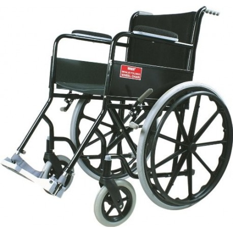 Vissco Black Magic Wheel Chair with Mag Wheels - 0983