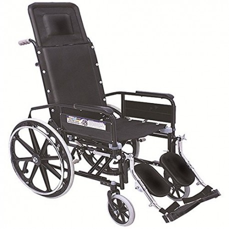 Vissco Reclining Wheel Chair with Elevated foot Rest - 0993