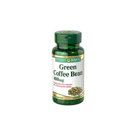 Green Coffee Bean Supplement 400 mg - 60 Capsules