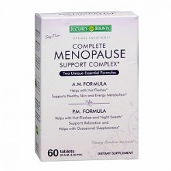 Complete Menopause Support Complex 60 Capsules -  Nature's Bounty
