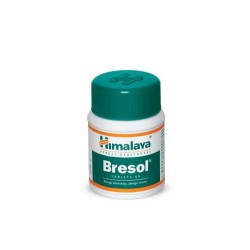 Bresol Tablets (The breathing solution) 60 Tablets - Himalaya