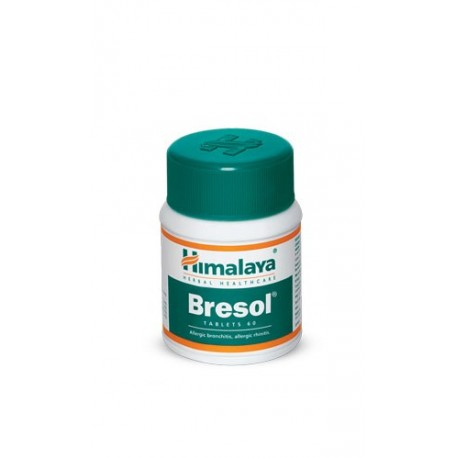 Bresol Tablets (The breathing solution) - Himalaya
