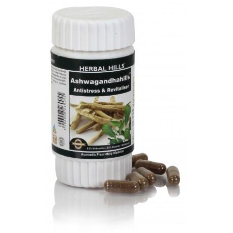 Herbal Hills Ashwagandha Hills, 60 capsules