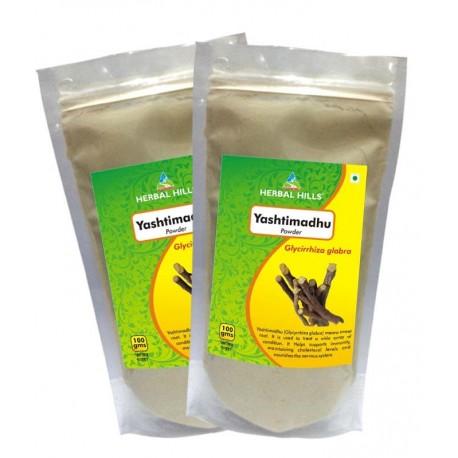 Herbal Hills Yashtimadhu Powder - 100 gms powder