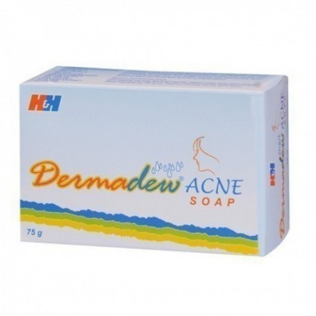 Dermadew acne soap - H&H Pharmaceutical