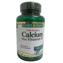Chewable Calcium Plus Vitamin D 100 Wafers