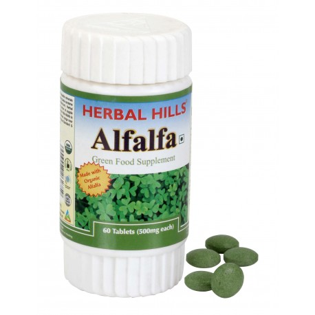 Herbal Hills Alfalfa, 60 tablet(s)