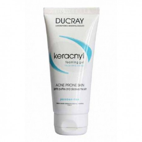 Keracnyl foaming gel - Ducray