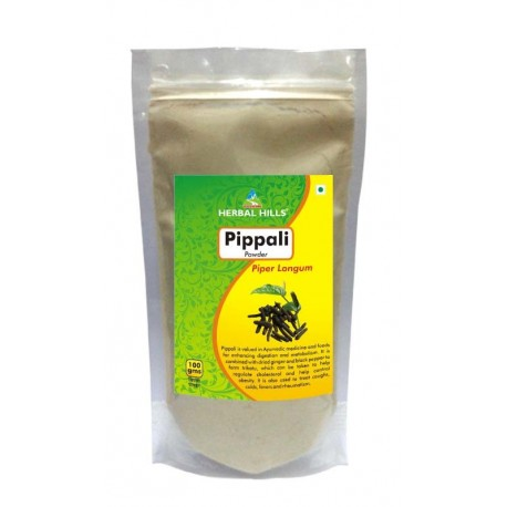 Herbal Hills Pippali Root Powder, 0.1 kg (100gm)