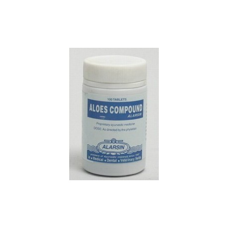 Aloes Compound Tablets - Alarsin