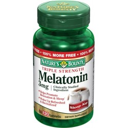 Triple Strength Melatonin 3 mg 120 Tablets