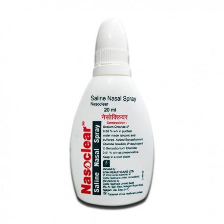 Nasoclear Nasal Spray - Liva Healthcare