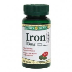 Iron 65mg 100 Tablets