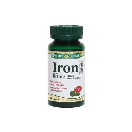 Iron 65mg 100 Tablets