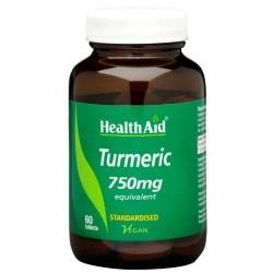 Turmeric 750mg 60 Tablets