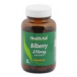 Bilberry Extract  275 mg 30 tablets - HealthAid