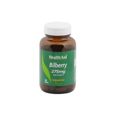 Bilberry Extract  275 mg 30 tablets