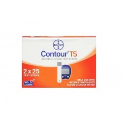 Contour TS Blood Glucose test Strips - Bayers