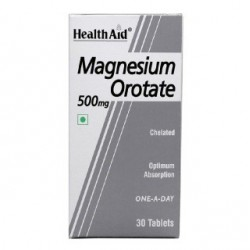 Magnesium Orotate 500mg 30 Tablets