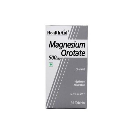 Magnesium Orotate 500mg 30 Tablets